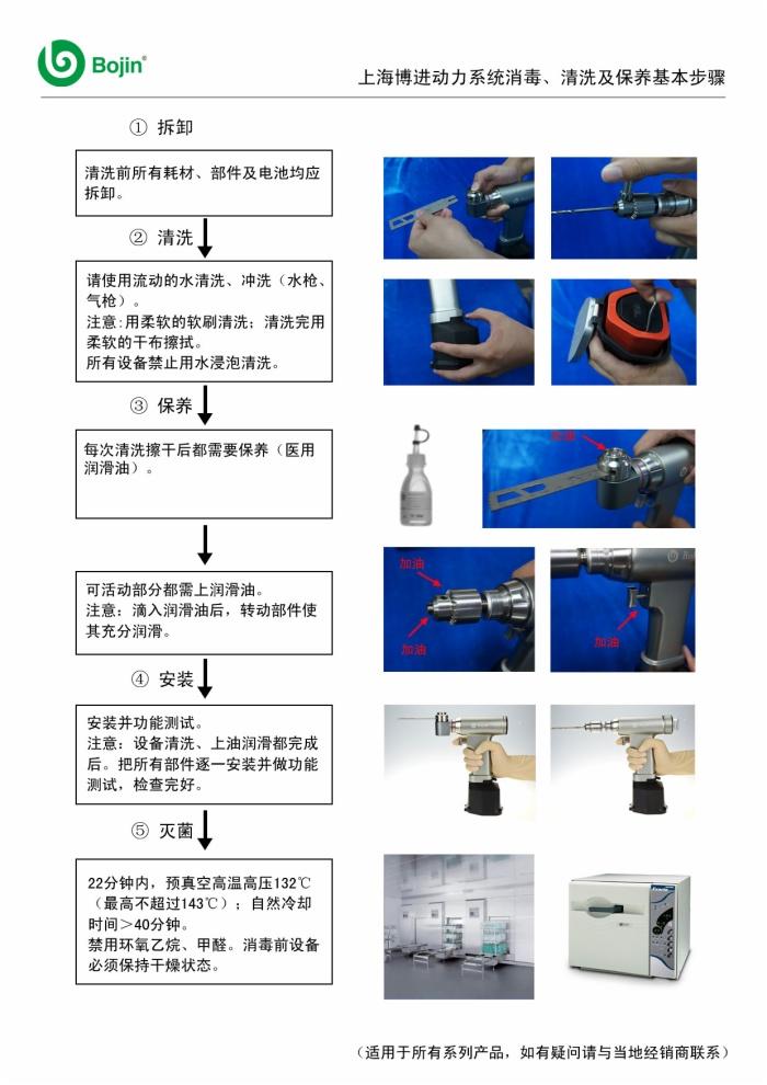 BJ6107B髋臼打磨钻-B接口(6000系列)